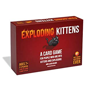 Exploding Kittens - A Russian Roulette Card Game, Easy Family-Friendly Party Games - Card Games for Adults, Teens & Kids - 2-5 Players (B010TQY7A8)   Amazon price tracker / tracking, Amazon price history charts, Amazon price watches, Amazon price drop alerts