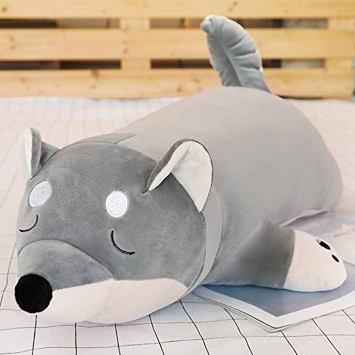 N / A Lindo Perro Gordo Shiba Inu de Peluche de Juguete Relleno Suave Kawaii Animal Dibujos Animados Almohada Regalo Encantador para niños 40cm