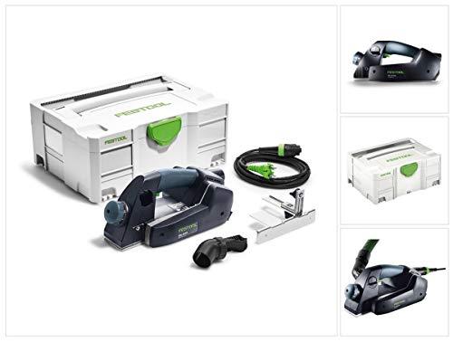 Festool TSH-AGC Einhandhobel EHL65EQ-Plus 720W Herstellernr. 576601, Schwarz/Grün