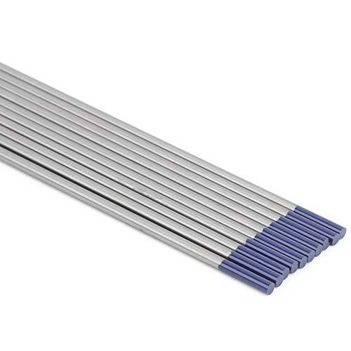 Agujas de arco de argón puro de la suavidad de los electrodos del tungsteno de WP de la soldadura de TIG para soldar aluminio fino