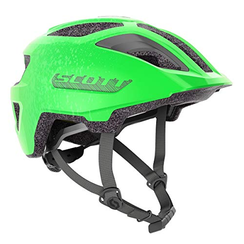 Scott Spunto Junior Kinder Fahrrad Helm Gr.50-56cm Smith grün 2021