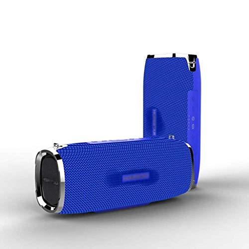 HJQFDC Portable Bluetooth Speakers Bluetooth Speaker Portable Wireless Loudspeaker Sound System 3D stereo Outdoor Waterproof Big Power Bank 35W loudspeaker (Color : C) mei (Color : B)