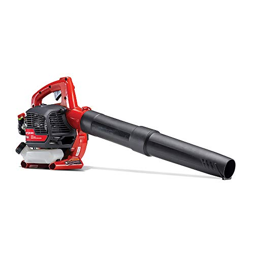 Craftsman B215 25cc 2-Cycle Engine Handheld Gas Powered Leaf Blower - Gasoline Blower with Nozzle Extension for Lawn Care, Liberty Red