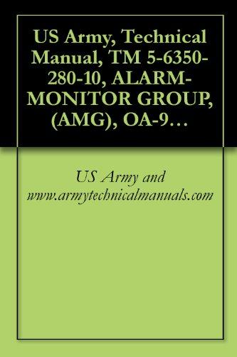 US Army, Technical Manual, TM 5-6350-280-10, ALARM-MONITOR GROUP, (AMG), OA-9431/FSS-9(V CAGEC 97403 (English Edition)