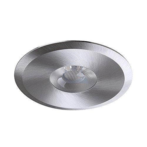 Meubles LED encastrable blanc chaud Downlight 3,5 W directement sur 230 V 35 ° 2700 K 250 lm ø82 mm