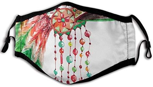 Cmodo y resistente al viento, disfraz de jefe tribal, tocado de la cultura nativa americana, smbolo tnico, decoraciones faciales impresas para adultos.