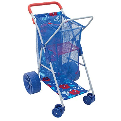 Rio Wonder Wheeler Deluxe Folding Beach Cart