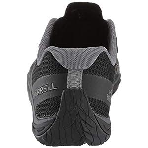 Merrell Women's Trail Glove 5 Sneaker, Black, 09.0 M US