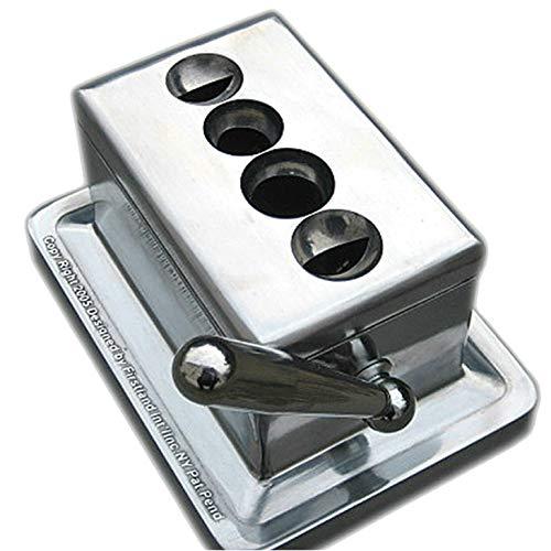 Cigar Metal Table Cutter (4-1 Silver)