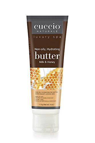 Cuccio Tube de mélange de lait et de beurre de miel 113,4 g.