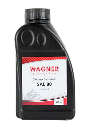 WAGNER Spezialschmierstoffe GmbH & Co. KG Getriebeöl Oldtimer-Getriebeöl SAE 80 500 ml