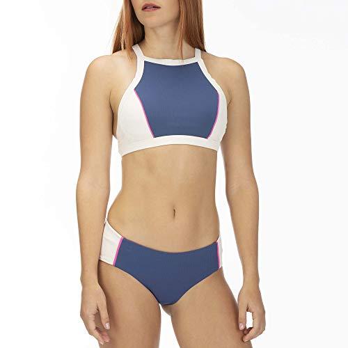 Hurley Dames W Q/D Maritime High Neck Surf Top Bikini