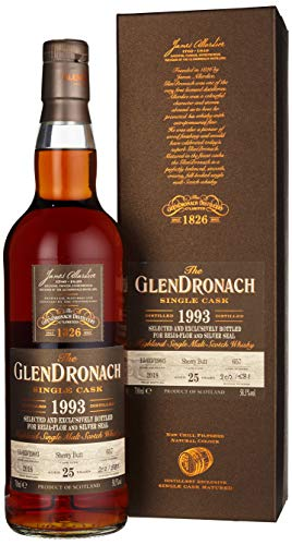 Glendronach The GlenDronach BEIJA-FLOR & SILVER SEAL SINGLE CASK Sherry Butt 1993 Whisky, 0.7 l