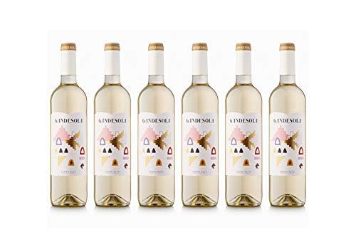 Celler Coop. Gandesa   Vino Blanco Gandesola 2018  D.O. Terra Alta   Pack de 6 botellas de 75cl.