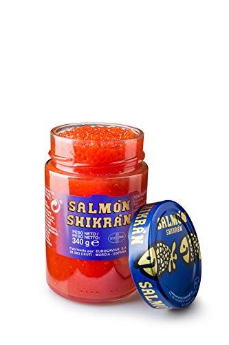 Salmón Shikrán® en esferas, tarro de 340 g