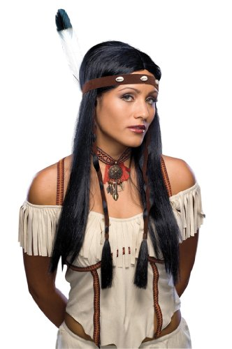 Rubie's 5 51703 - Indianerin Perücke