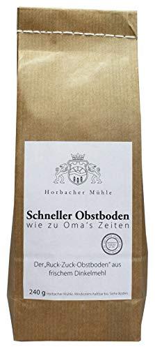 Horbacher Mühle - Schneller Obstboden Wie Aus Omas Zeiten 240g Beutel