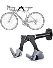 Bicycle Wall Hangers Road Mountain Bike Wall Hook Adjustable Trailer For Children's Balance Car Bike Stand Wall Holder Mount Bicycle Mountain Bike Storage Wall Mounted Rack Stands Steel Hanger Hook