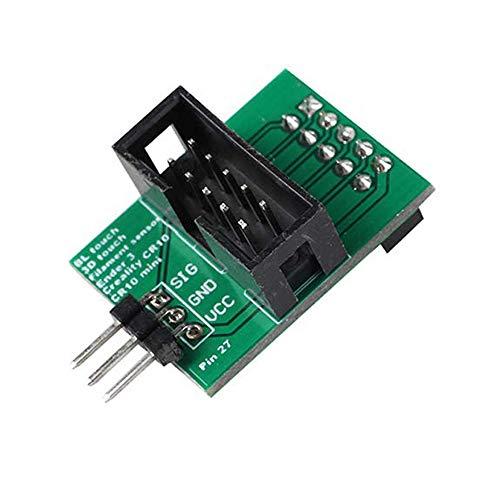 Tarjeta de adaptador Creality Ender 3 CR-10 3 Pin 27 para BL Touch o Sensor de filamento accesorios de impresión 3D Eewolf