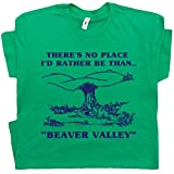 L - Beaver Valley T Shirt Funny Shirts Offensive Tee Saying Cool Tshirt Quote Sex Mens Adult Humor Dirty Graphic White