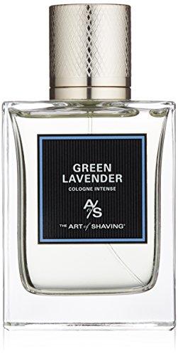 The Art of Shaving Cologne Intense, Green Lavender, 3.3 Fl Oz