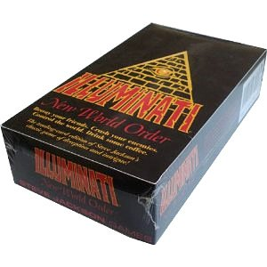 1994-1995 ILLUMINATI NEW WORLD ORDER Card Game Factory SEALED CCG  INWO  Unlimited Booster Pack POP  576 cards total By Steve Jackson Unlimited Edition ORIGINAL VERSION 1.1 MARCH 1994-1995