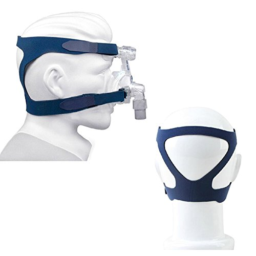 Universal Headgear Full Mask Replace Part CPAP Ventilator Headband (Without Mask) (Blue)