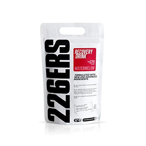 226ERS Recovery Drink, Recuperador Muscular con Proteína, Creatina, Hidratos de Carbono, Triglicéridos y L-Arginina, Sandía - 1000 gr