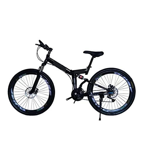 HUAQINEI Bicicleta de montaña de Velocidad Variable para Adultos 26 Pulgadas 21/24/27/30 velocidades Freno de Disco de amortiguación Suave Bicicleta de 3 Ruedas, 2,21 velocidades
