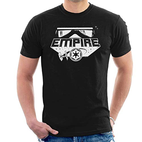 Star Wars Bold Empire montage heren T-shirt