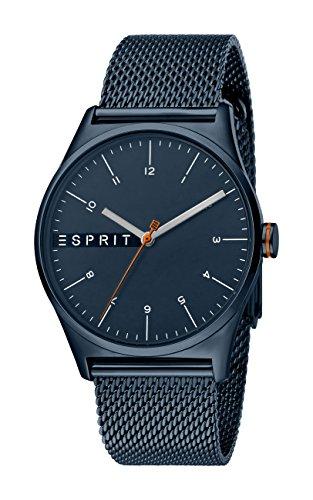Esprit Reloj Analógico para Hombre de Cuarzo con Correa en Acero Inoxidable ES1G034M0095