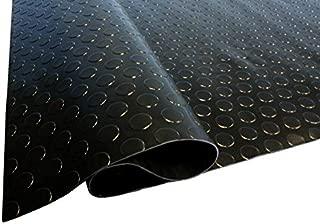 Midnight Black Coin Nitro Roll Out Garage Flooring -Flooring Protector Trailer Flooring 7.5 X 17