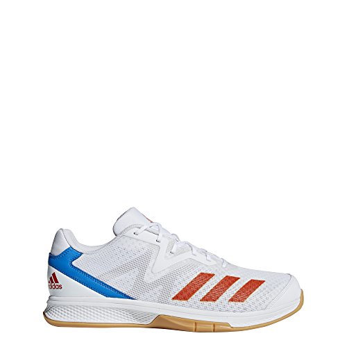 adidas Herren Counterblast Exadic Handballschuhe, Weiß (Ftwbla/Rojsol/Azubri 000), 40 2/3 EU