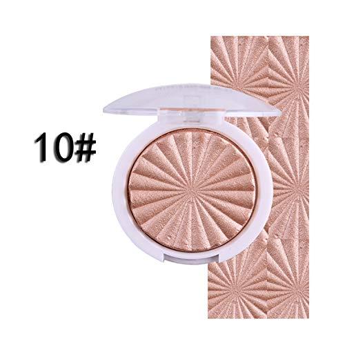 MISS ROSE 3D Shimmer Powder Highlighter Palette Face Base Makeup...