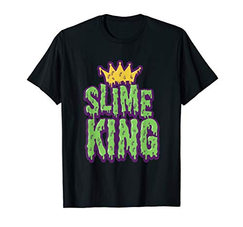 Slime King Balls Accessories Crown Trending Cool T Shirt