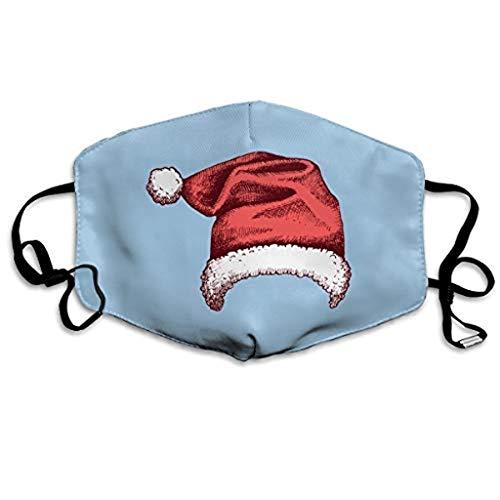 Sannysis Mundschutz Waschbar mit Weihnachten Motiv Bandana Lustige Multifunktionstuch Herren Damen Mund und Nasenschutz Staubdicht Motorrad Halstuch (A)