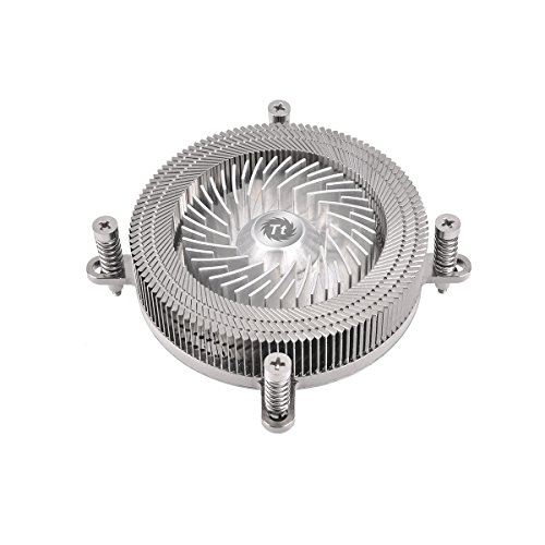 Thermaltake Engine 27 Low Profile CPU Cooler Supports Intel Socket LGA 1150/1151 - Silver