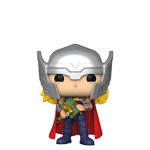 POP! Funko Exclusive Marvel Collector Corps #535 Thor (Holiday) wth Free Acrylic Case