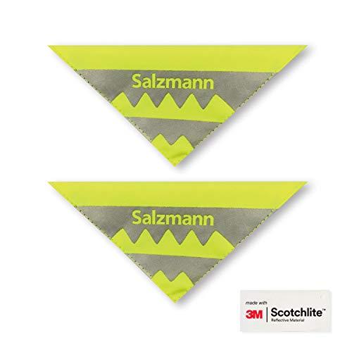Salzmann 3M Reflektoren für Kinderwagen und Fahrräder | Sicherheitsreflektoren | Hergestellt mit 3M Scotchlite (2 Stück)
