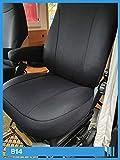 BREMER SITZBEZÜGE Fundas de Asiento compatibles con Autocaravana, Conductor y copiloto, Color Negro 814
