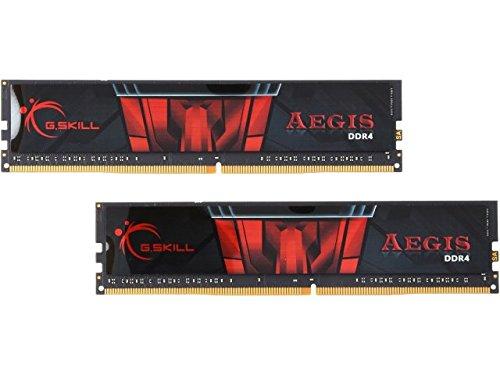 G.Skill 8 GB DDR4 - 2133 - DDR4-Speicher (PC / Server, 2 X 4 GB, Dual, Schwarz, Rot)
