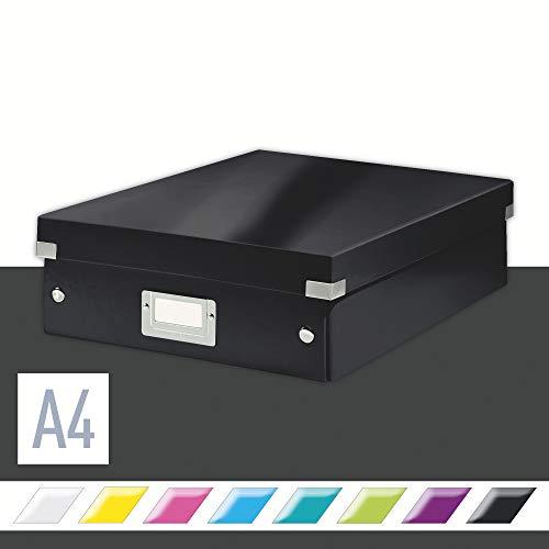 Leitz Click & Store Organisationsbox, Mittelgroß, schwarz, 60580095