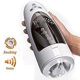 Sexual BINGGE 5 Succión 10 Modos de rotación Garganta profunda Masajeador eléctrico Oral Masajeador automático Productos para adultos para parejas