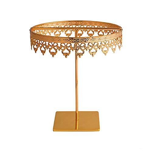 Kalaokei Soporte de exhibición de soporte de exhibición de collar soporte de exhibición de joyería para el hogar, soporte para pendientes, collar organizador de oro, grande #