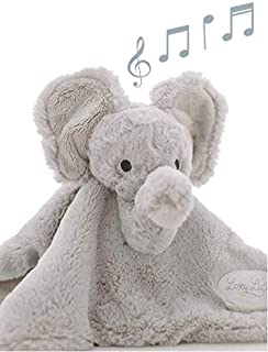 LoveyLu Lullaby Playing Baby Security Blanket