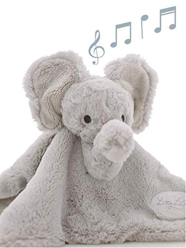 Lullaby Playing Baby Security Blanket by LoveyLu