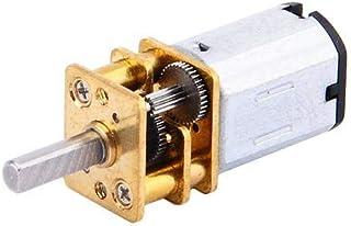 Motor de engranaje, motor de reducción de velocidad N20 DC12 V 300 RPM con motor de metal Gearbo