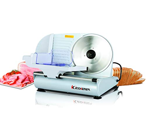 Kitchener Meat Slicer Food Deli Bread Cheese Electric 9-inch Stainless Steel Blade 120VAC Belt Driven
