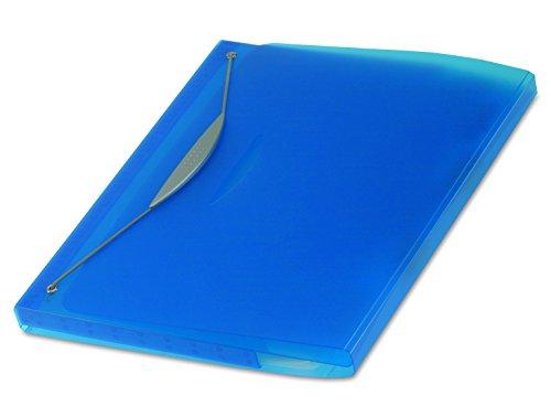 Fellowes Leonardi 40440 Cartella Congressi Swing, Formato Esterno 26 x 31.3 x 31.8 cm, Blu