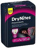 Huggies DryNites hochabsorbierende Pyjama-/ Unterhosen, Bettnässen Mädchen Jumbo Monatspackung, 4-7 Jahre (64 Stück) - 5